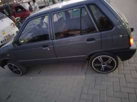 Mehran car .inner in januine and in outer its better condition
