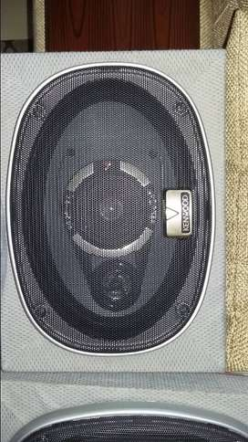 Kenwood speakers brand new with box fitting ox fitting