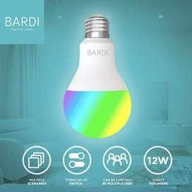 BARDI Smart LIGHT BULB RGBWW 12W Wifi Wireless IoT - Home Automation