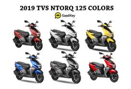 TVS Ntorq available at low Down Payment on the occasion of Diwali