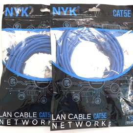 N E W Kabel LAN 1.5/3/5/10/15/20/25meter cat5E PC/LAPTOP/indihome