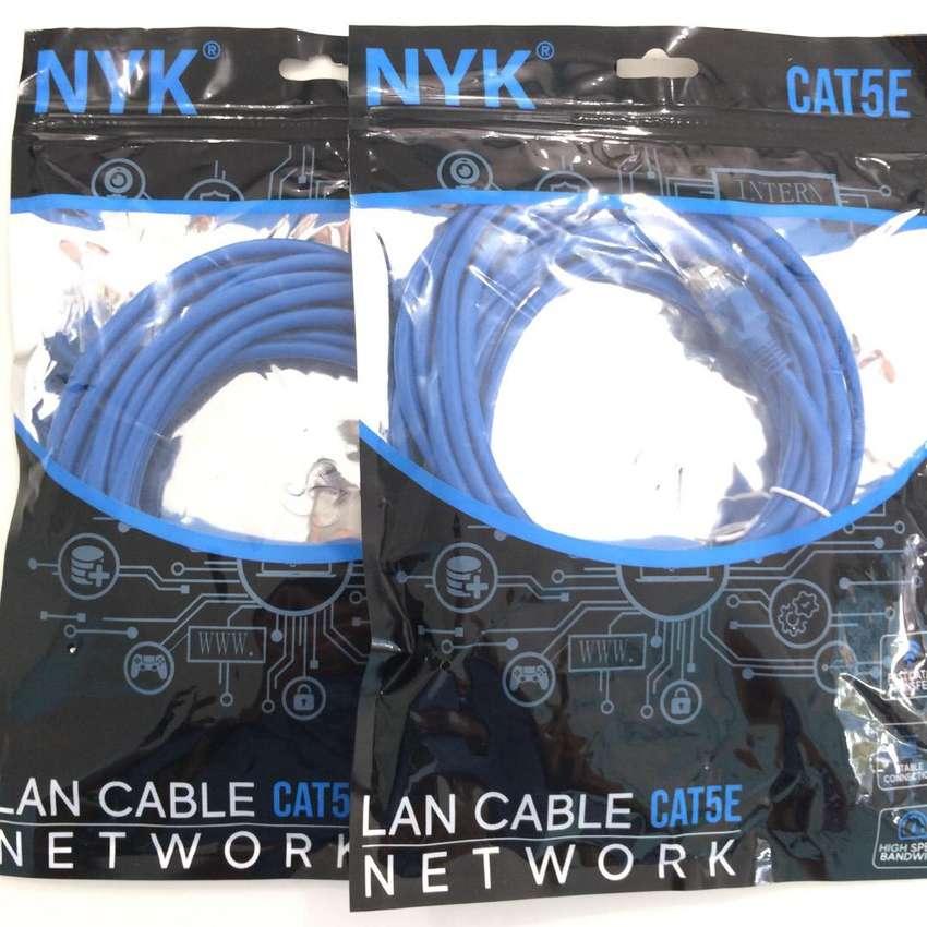 N E W Kabel LAN 1.5/3/5/10/15/20/25meter cat5E PC/LAPTOP/indihome 0