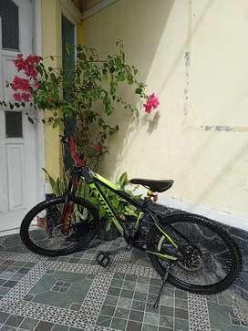 """Sepeda Exotic uk 24"""" Speed 3-7 mulus siap goes"""