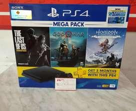 OPS Sony PS4 Slim 1TB CUH-2218B Mega Pack Bundle Ready