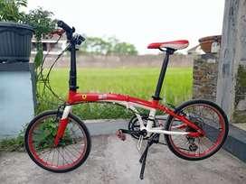Sepeda lipat FERRARI 20in Langka