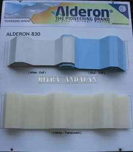 Jual Alderon, Solarflat, Solartuff, Alderon RS,ACP dan kebutuhan atap