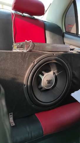 JBL woofer with Amp for sale