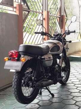 Kawasaki W175 2018 Silver Mantap