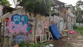 Tanah pinggir jalan Di tanah baru Depok Cocok buat usaha/kantor