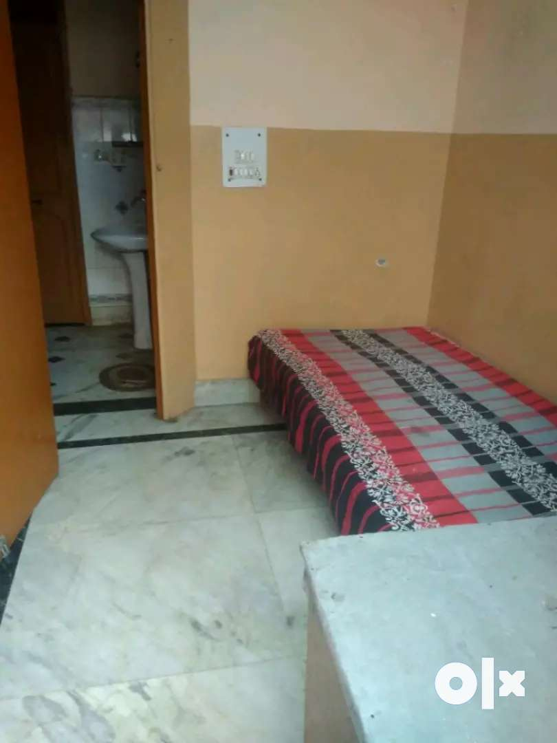 For Male only -1Room Kitchen independent Furnished On Ground Floor