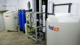 RO plants and water filtration system (industrial and commercial)