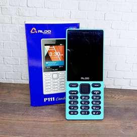 Aldo P111 Candy Dual SIM Garansi Resmi