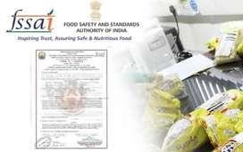 Fssai (Food license) swiggy & zomato attachment