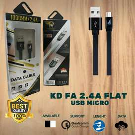 grosir kabel data flash angel flat 2.4a