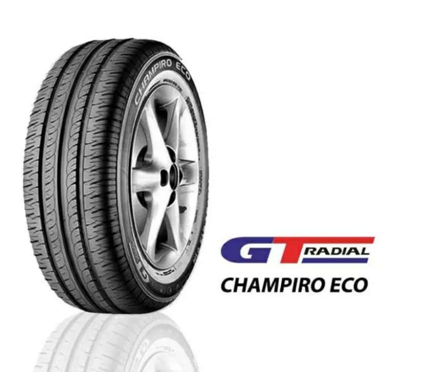 Jual ban mobil GT radial champiro eco ukuran 185/60/15 0