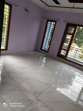 3bhk for family independent floor semi furnished