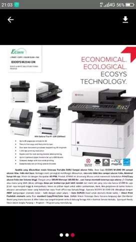 JUAL dan RENTAL mesin fotocopy 100% baru.garansi 1 th. Teknisi siap
