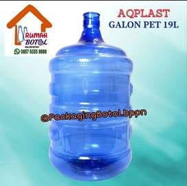 GALON PET / Galon Guci + KRAN 2LT - 5LT - 10LT - 12LT - 20LT