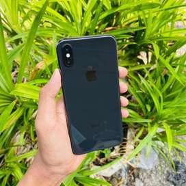 iPhone X 64Gb Space Grey Elegant Fullset Mulus Terawat