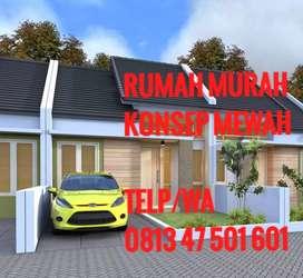 Dijual rumah murah konsep mewah