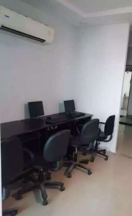 furnished office and commercial space on rent shree nagar indore.