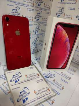 i phone xr 64gb used in 1 month warranty