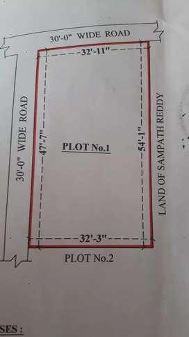 open  plot