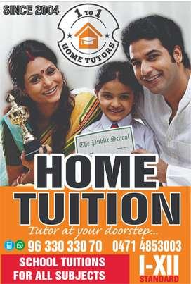 Home Tutors for Maths,Science,Languages,Computer & Economics