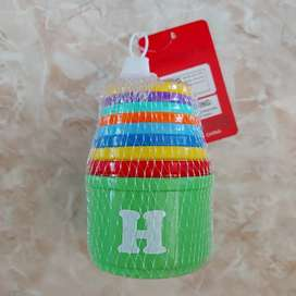 Mainan edukasi anak stacking cups / cup tower susun angka dan huruf