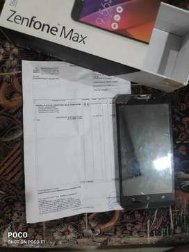 Two Zenfone max cellphones