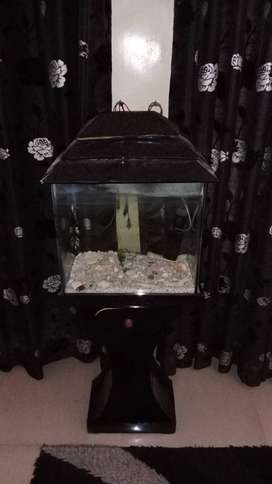 Used small Aquarium with all accessories for sale
