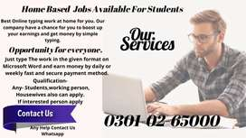 housewife anyone can apply online simple typing job at home