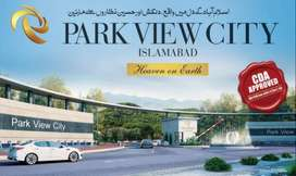 5 Marla Plot file for sale in park view City