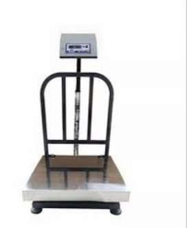 300kg weight machine. 2ft by 2ft S.S Plate. Brand New. 1 year Warranty