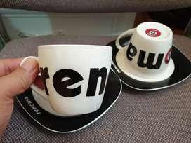 Renoma cups & saucer original super cantik