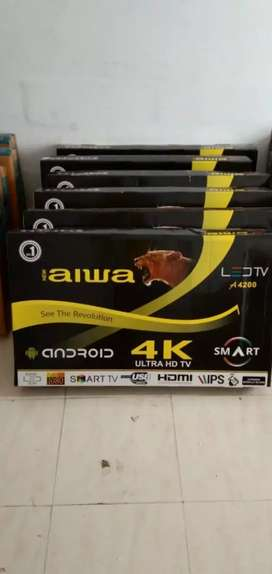 New aiwa SMART4K led tv on deepavali offer PRICE on your sweet home