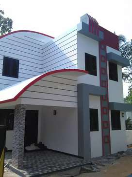 G plus 1 villa near to nalukodi changanacherry
