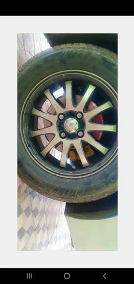 15 inch orignal tiwani Ally rim for 2.0d corolla good condition