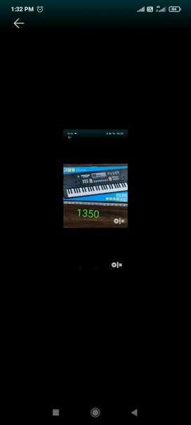 Piano fully new