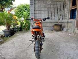 Dijual mini trail 49cc 1.800.00