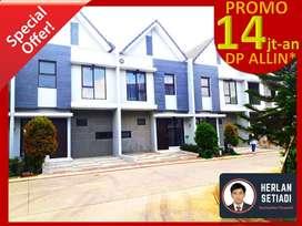 Rumah Murah 2 Lantai dijual 700jtan DP 14jtan Galuh Mas Karawang Barat