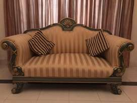 Dewan - 2 seater sofa with center table