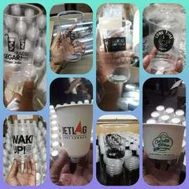 Sablon/printing GELAS thai tea (GELAS CUP PLASTIK PP) 16oz 7gram
