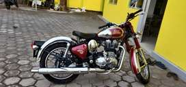Royal Enfield classic crome export varient
