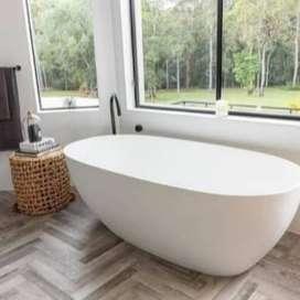 Bathup Terrazzo - Model Glossy - Bathup Unik - Bengkulu Kota