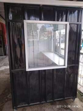 Dijual cepat/butuh booth container baru