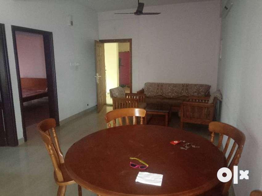 2 BHK Semifurnished flat Nr PC,  St. Thomas Colege Thrissur 0