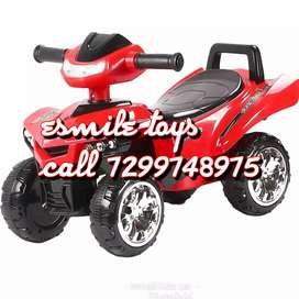 BRAND new kids ride on toy bike with rechargeable battery powered