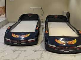 Car Shaped single beds (2 no)