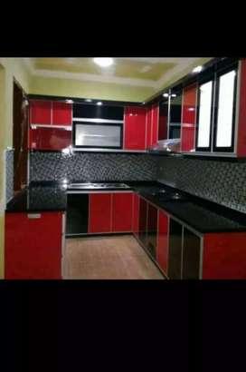 Kitchen set 09 dijamin rapih berkualitas